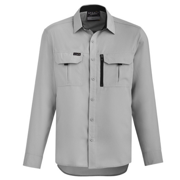 Mens Outdoor Long Sleeve Shirt-zw460-syzmic