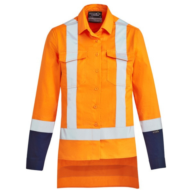 Womens TTMC-W Drill Work Shirt-zw730