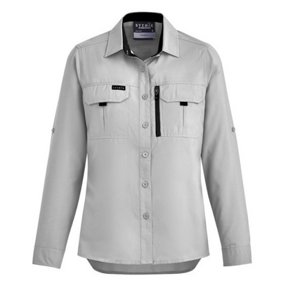 Womens Outdoor Long Sleeve Shirt-zw760-syzmic