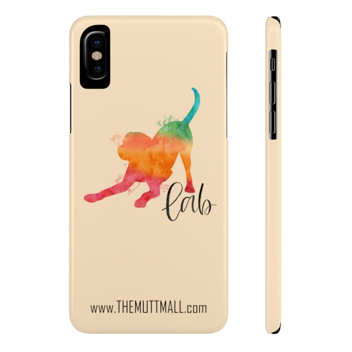 Lab iPhone Case