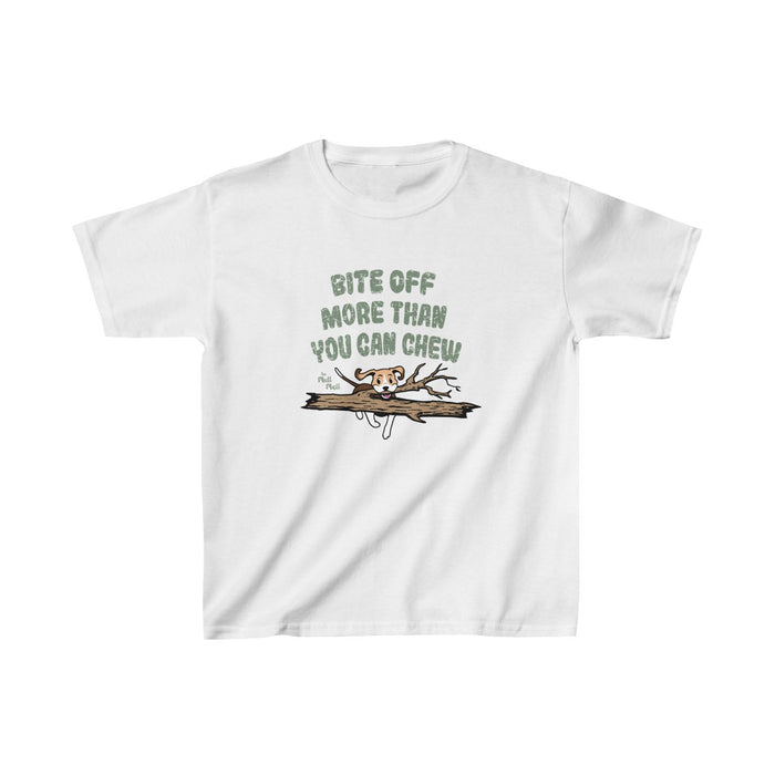 Bite off More Than You Can Chew Youth T-Shirt