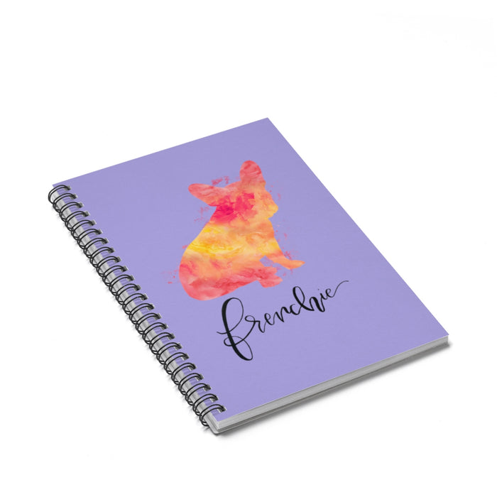 Frenchie Spiral Notebook