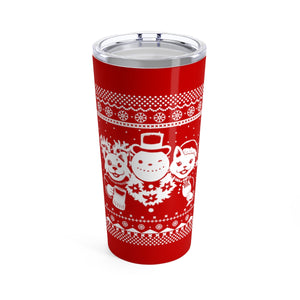 Party Animals Ugly Christmas Sweater Travel Mug, 20oz