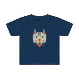 Sugar Skull Dog Toddler T-Shirt