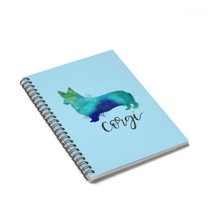 Corgi Spiral Notebook