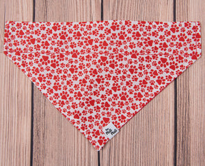 Dog Bandana, Paw Prints