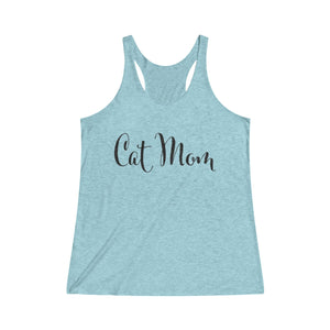 Cat Mom Racerback Tank