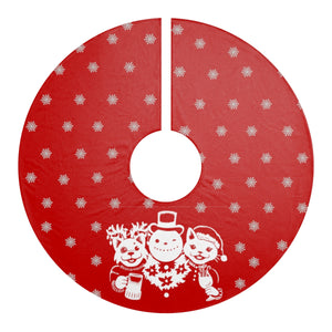 Party Animals Christmas Tree Skirt