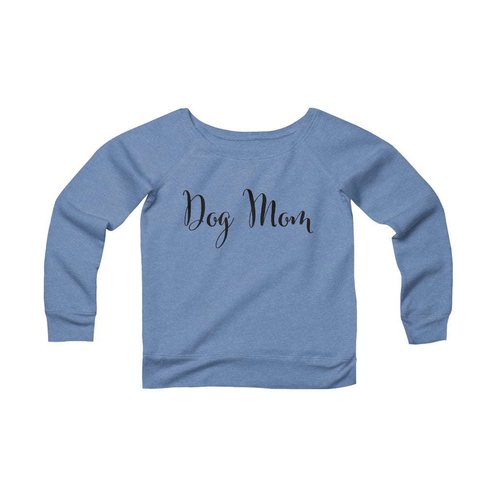 Dog Mom Women's Off The Shoulder Sweatshirt