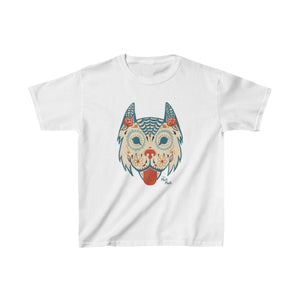 Sugar Skull Dog Youth T-Shirt