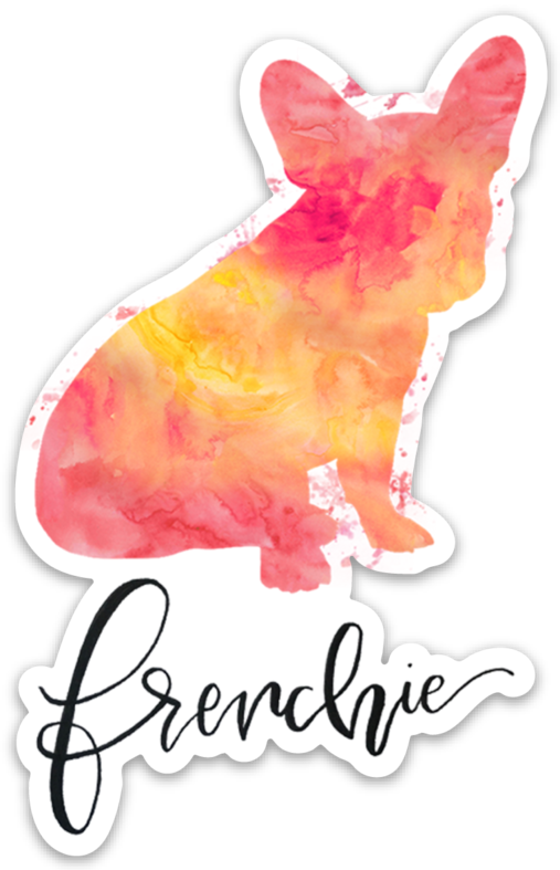 Frenchie Die Cut Sticker