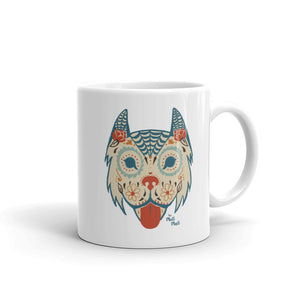 Coffee Mug, Sugar Skull Dog