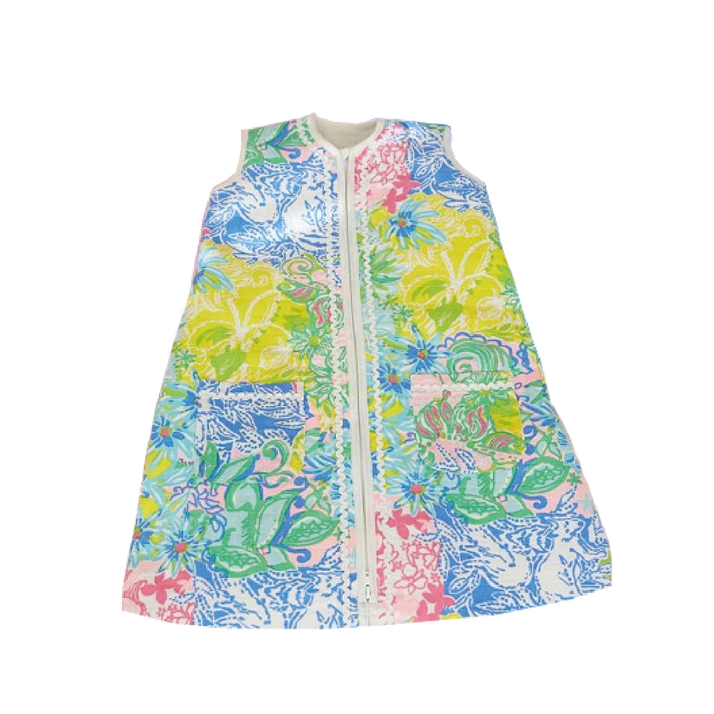Lilly Pulitzer Colorful Wearable Blanket - Little Lady Agency