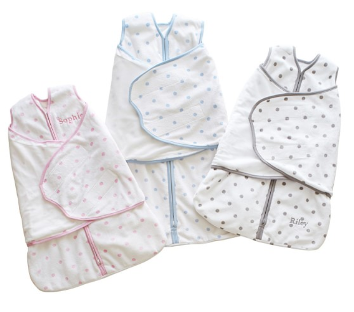 Polka-dot Swaddle Blanket - Little Lady Agency