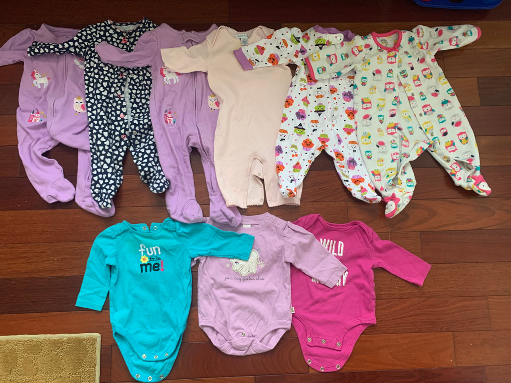 Set of Infant Onsies (9)