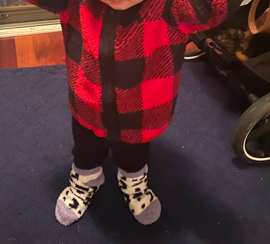 Baby Clothing Buffalo plaid jacket