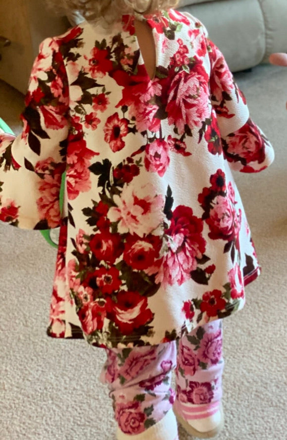 Baby Clothing floral dress