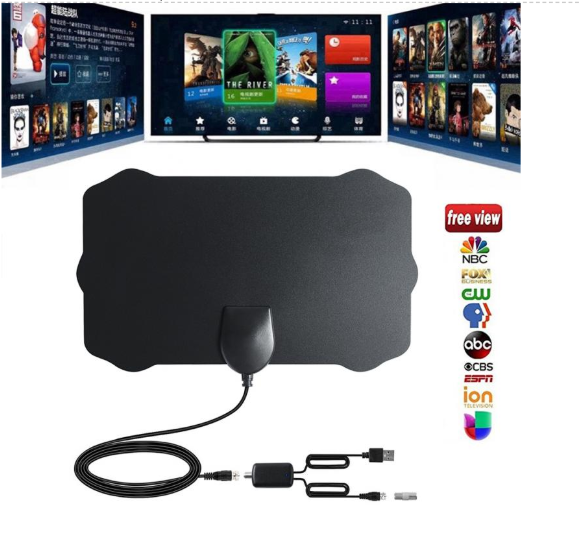 HDTV Free Cable Antenna with Amplifier Signal Booster