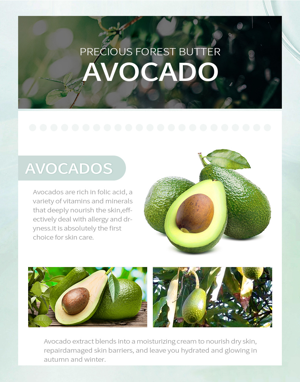 Avocado Anti-aging Face Cream