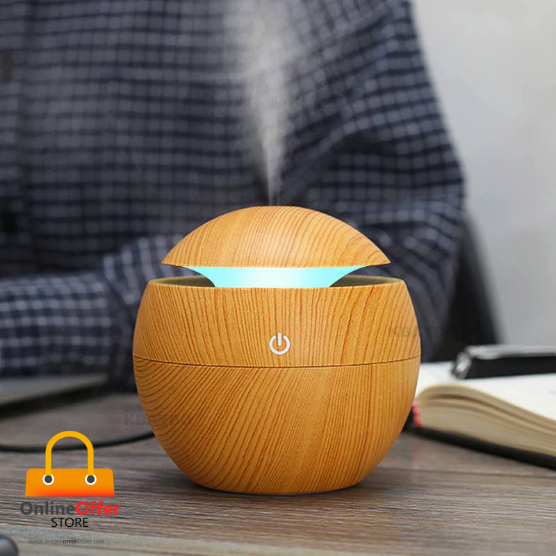 USB - Led Ultrasound Essential Oil Diffuser