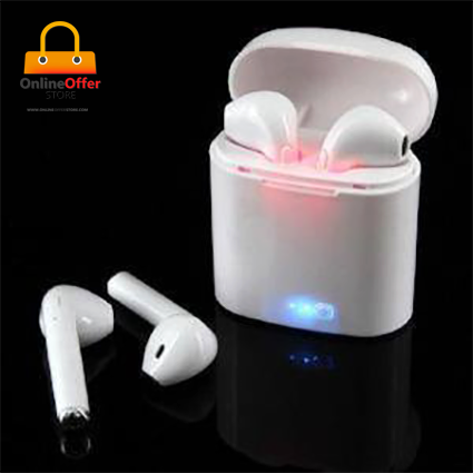 i7s TWS Mini Stereo Wireless Bluetooth Headset with Charging Box