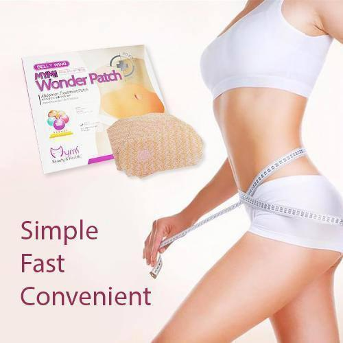 Glamorous Belly Slimming Patch [Set 10 Pcs]