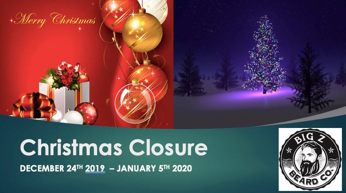 Christmas Closure 2019