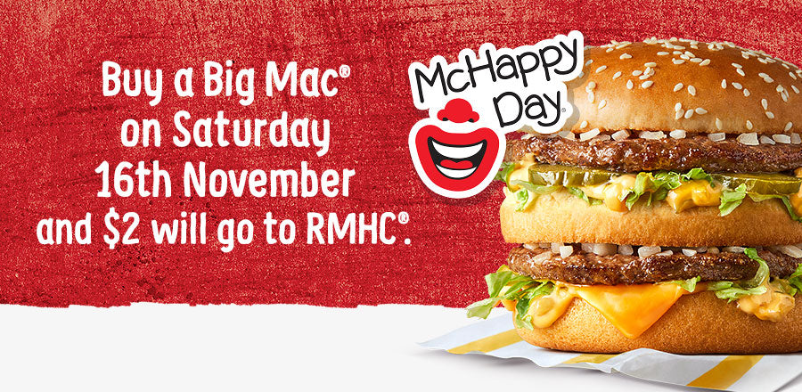 McHappy Day 16th November 2019