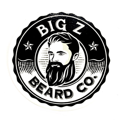 Big Z Beard Co Sticker