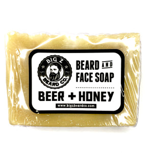 Beer & Honey Beard & Face Soap
