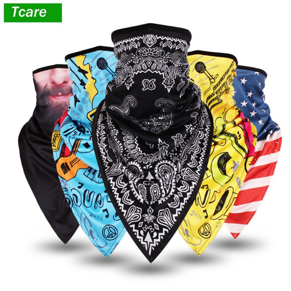 Tcare Lengthen Breathable Outdoor Windproof Dust Face Mask Bike Motorcycle Neck Warmer Masks for Women Men Youth Cycling Sports