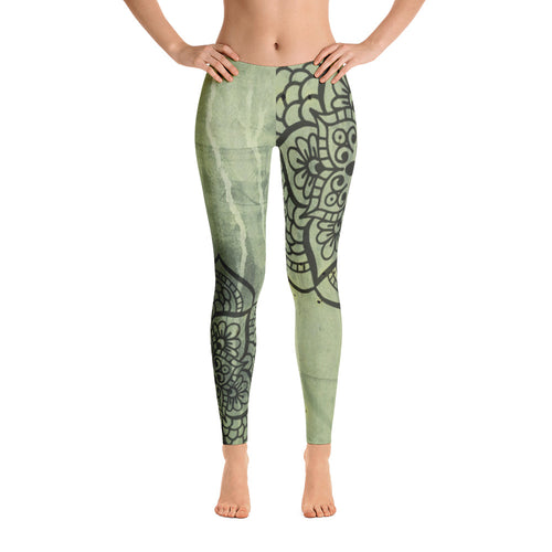 SERENE MOSS LOW WAIST LEGGINGS