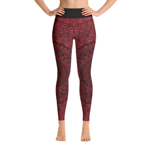 SCARLET HEART LEGGINGS