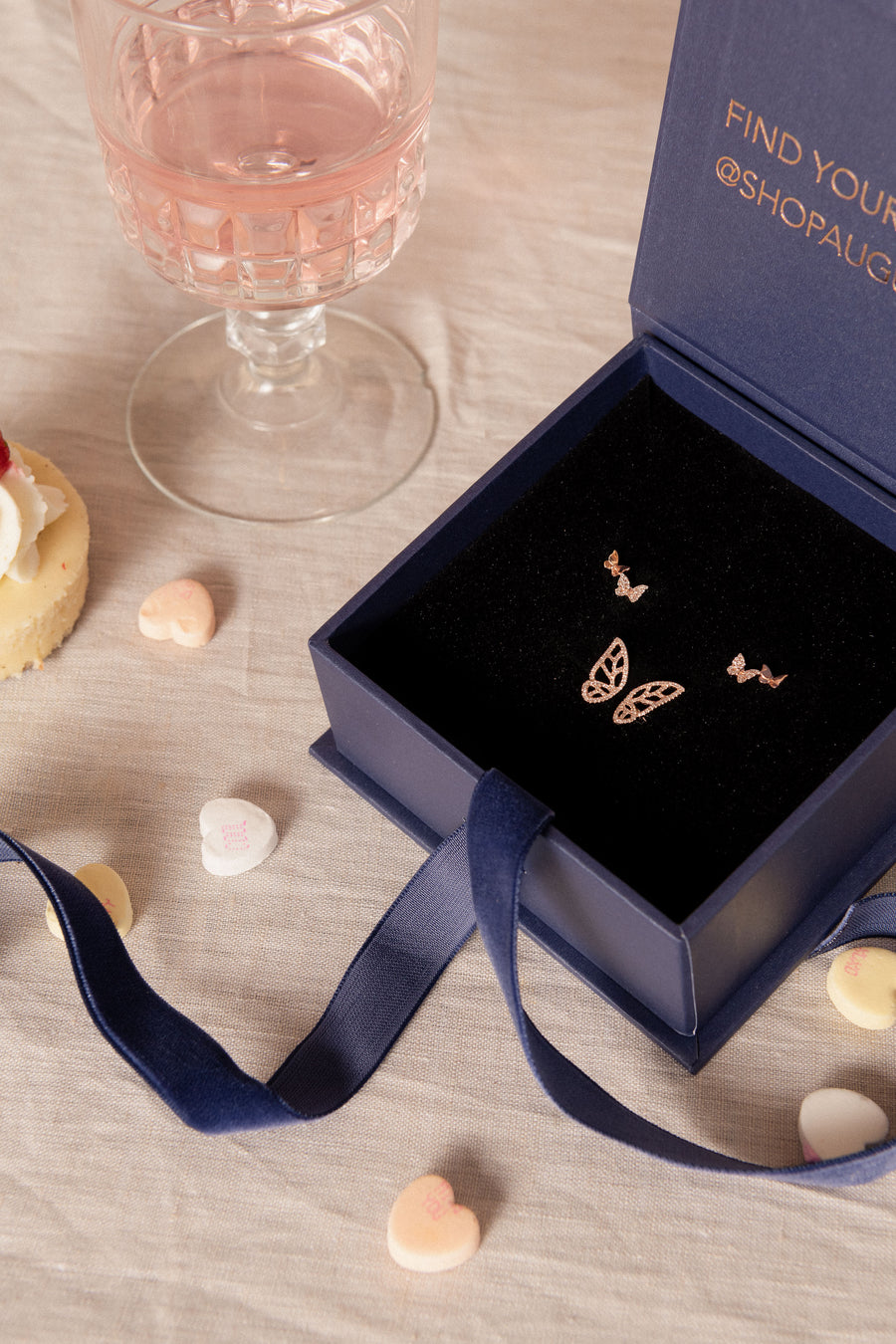 Butterfly Ring & Double Butterfly Studs - Bundle