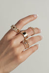 Thick Chain Link Ring
