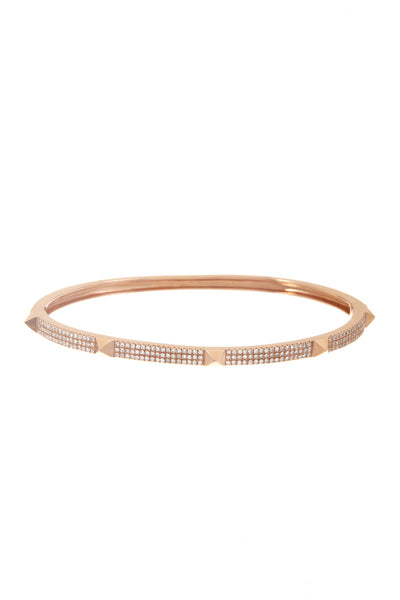 Thin Pyramid Bangle