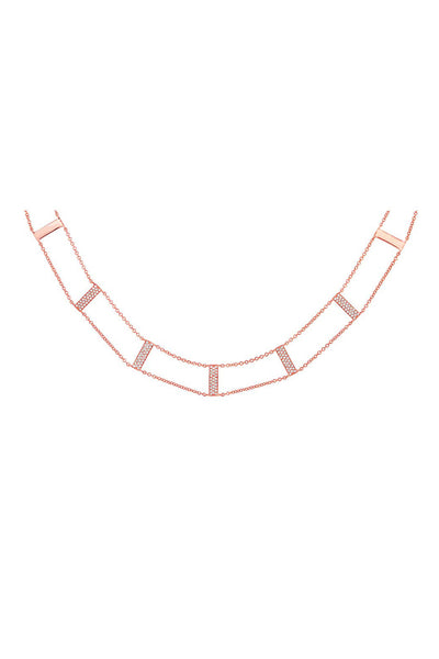 Pave Double Stack Ladder Choker