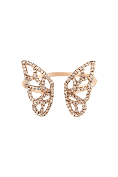 Butterly Ring & Double Butterfly Studs - Bundle