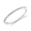 Single Stackable Pave Diamond Ring