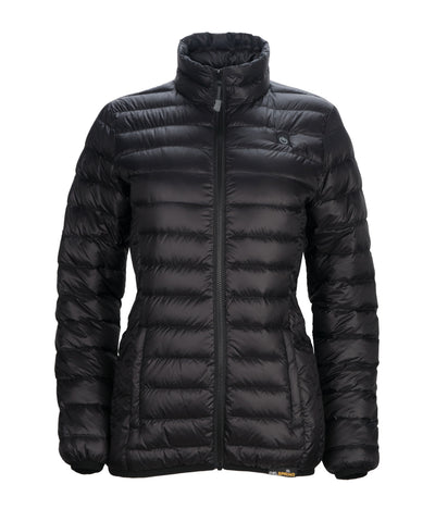 Women's Down Insulated Battery Heated Jacket - delspring