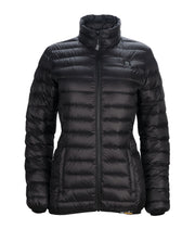 Women's Down Insulated Battery Power Heated Jacket - delspring