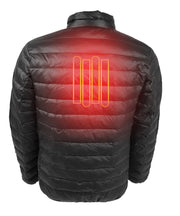 Men's Down Insulated Battery Heated Jacket - delspring