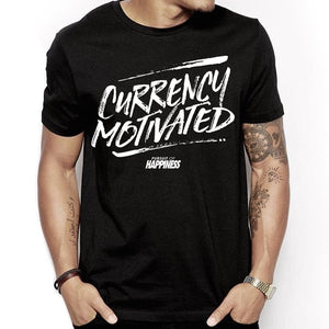"""Currency Motivated"" Tee - Pursuit Of Happiness"