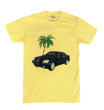 V-12 Benz Tee (Banana Creme Yellow) - Pursuit Of Happiness