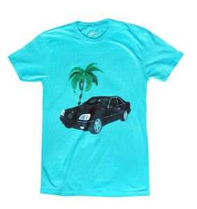 V 12 Tee- Blue - Pursuit Of Happiness