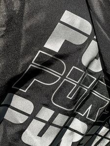 Black 3M Pursuit Windbreaker - Pursuit Of Happiness