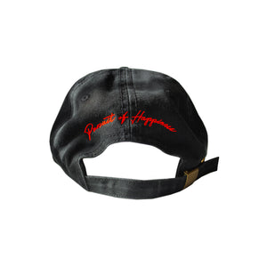 Ferrari Dad Hat (Black) - Pursuit Of Happiness