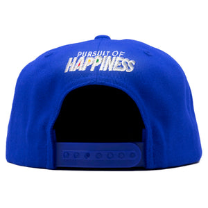 Royal Blue Rubik's Snapback - Pursuit Of Happiness