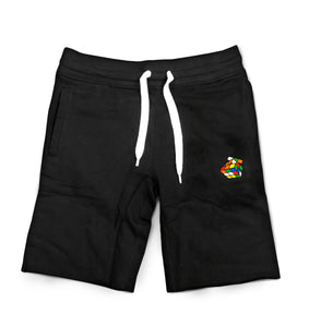 Black Rubik's Shorts - Pursuit Of Happiness
