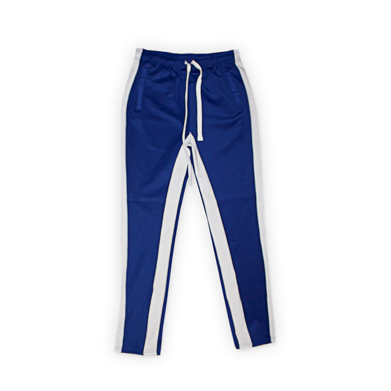 Track Pants With Front Two Side Pockets & One Back Pocket